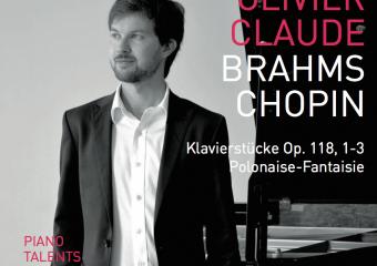 Olivier Claude joue Brahms et Chopin (Premier CD)